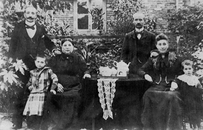 Familie Spier 1906